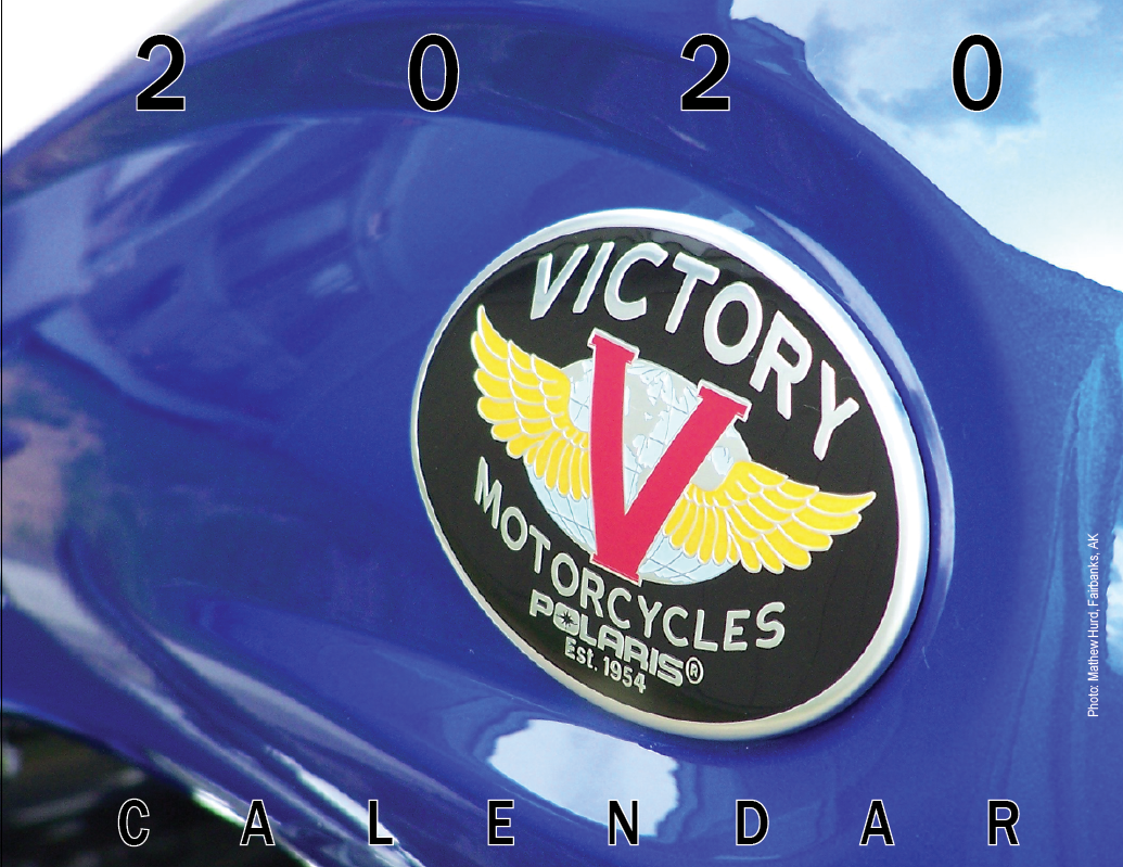 Victory Owners Group >> Victory Motorcycles 2020 Calendar
